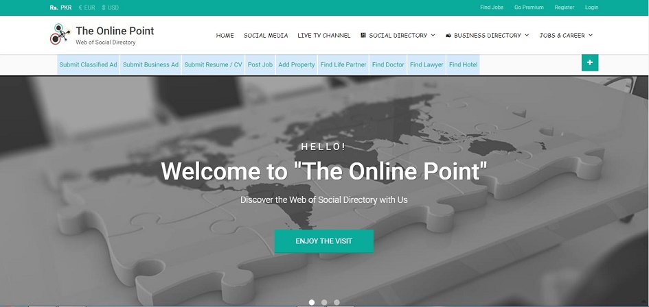 The Online Point