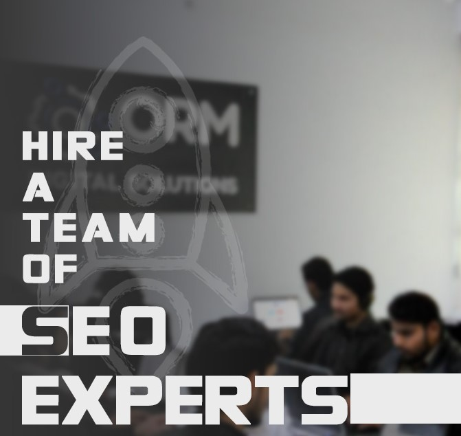 Hire a Team of SEO Experts
